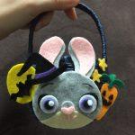 ズートピアのジュディの仮装のお供に!子供用のお菓子入れ(カゴ)作ってみた!