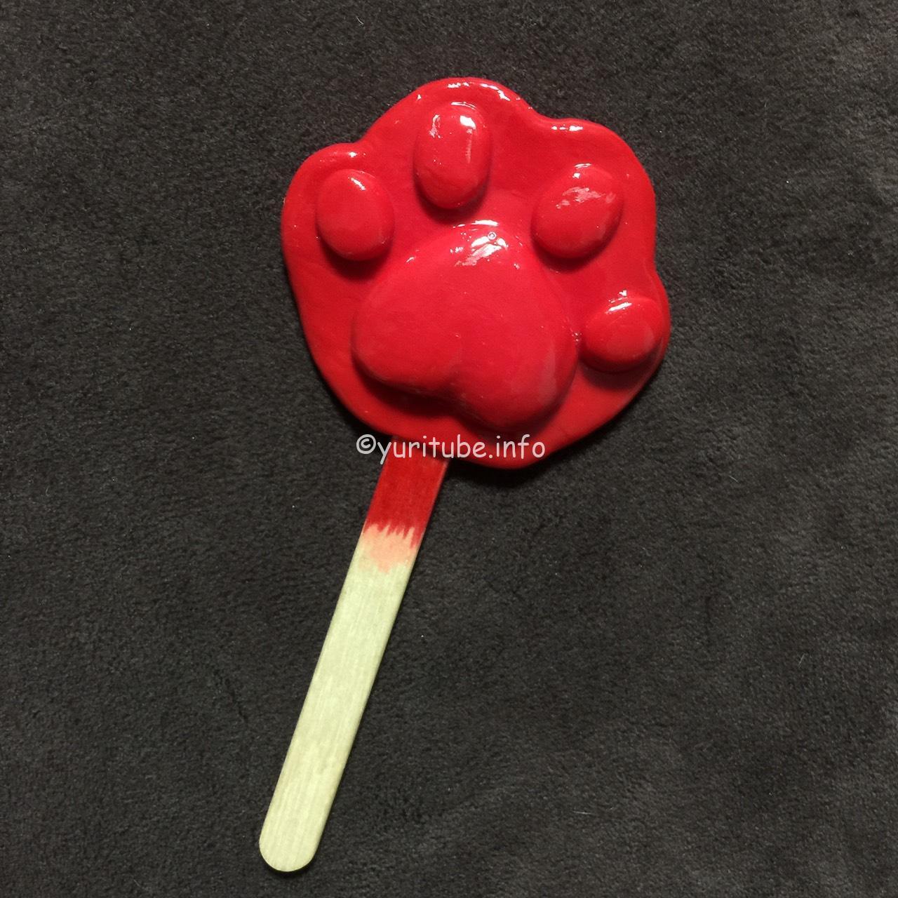ズートピアのニックコスプレで大活躍の手形アイスキャンディーを100均グッズだけで手作りしてみた